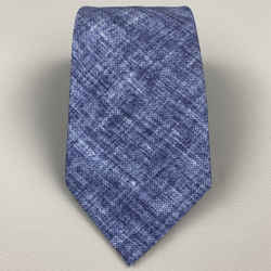 Brioni Indigo Heather Silk Neck Tie