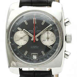 BREITLING 2 Register Chronograph Incabloc Hand-Winding Mens Watch BF340406