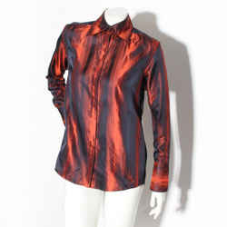 Gucci Silk Stripe Top
