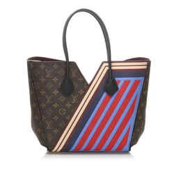 Vintage Authentic Louis Vuitton Brown Monogram Kimono MM France