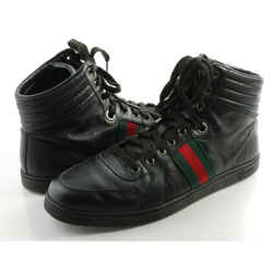 Gucci GG Guccissima Leather High-top Sneakers