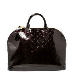 Louis Vuitton Amarante Monogram Vernis Alma Voyager Bag