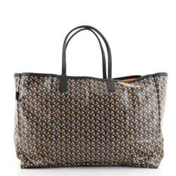 Roseline Reversible Tote Coated Canvas and Printed Canvas