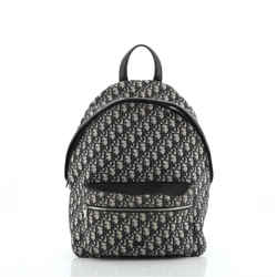 Zip Around Backpack Oblique Canvas Medium