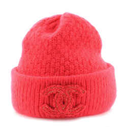 CC Patch Beanie Knit Cashmere with Silk XS