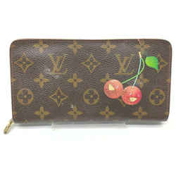 Louis Vuitton Rare Murakami Monogram Cherries Zippy Wallet Cherry Cerises 861005