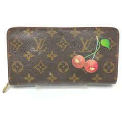 Louis Vuitton Rare Murakami Monogram Cherries Zippy Wallet Cherry Cerises 861005