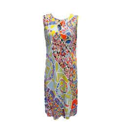Emilio Pucci Multicolor Retro Dress