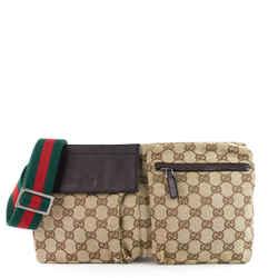 Monogram Canvas Belt Bag