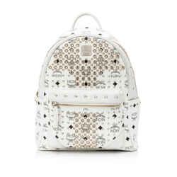 Pre-Owned MCM Stark Special Swarovski Crystals Embellished Backpack