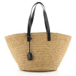 Panier Basket Shopper Raffia Medium
