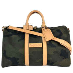 Louis Vuitton x Supreme | Keepall Bandouliere Monogram Camo 45