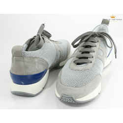 Hermes Gray Starter Fishnet Sneakers