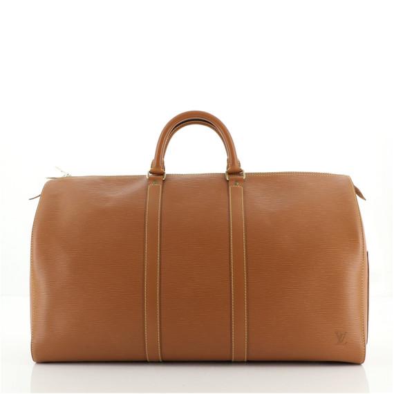 Keepall Bag Epi Leather 50