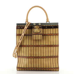 Crown Frame Tote Limited Edition Time Trunk Canvas GM