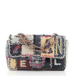 Flap Bag Multicolor Patchwork Medium