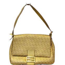 Fendi Forever Mama Zucca Canvas Shoulder Bag