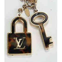 Louis Vuitton Acetate Confidence Bag Charm Key Holder