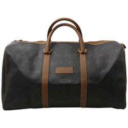 Christian Dior Black Monogram Trotter Honeycomb Boston Duffle Bag  861854