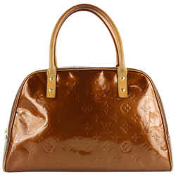 Louis Vuitton Brown Monogram Vernis Copper Bronze Tompkins Square Bag  862136