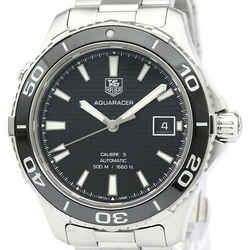 Polished TAG HEUER Aquaracer 500M Calibre 5 Automatic Watch WAK2110 BF520151