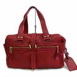 Mulberry Red Leather Mabel 871392