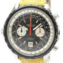 BREITLING Navitimer Chronomat Steel Leather Automatic Mens Watch 1808 BF530412