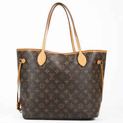 Louis Vuitton Neverfull Mm Tote Bag Brown Monogram Coated Canvas