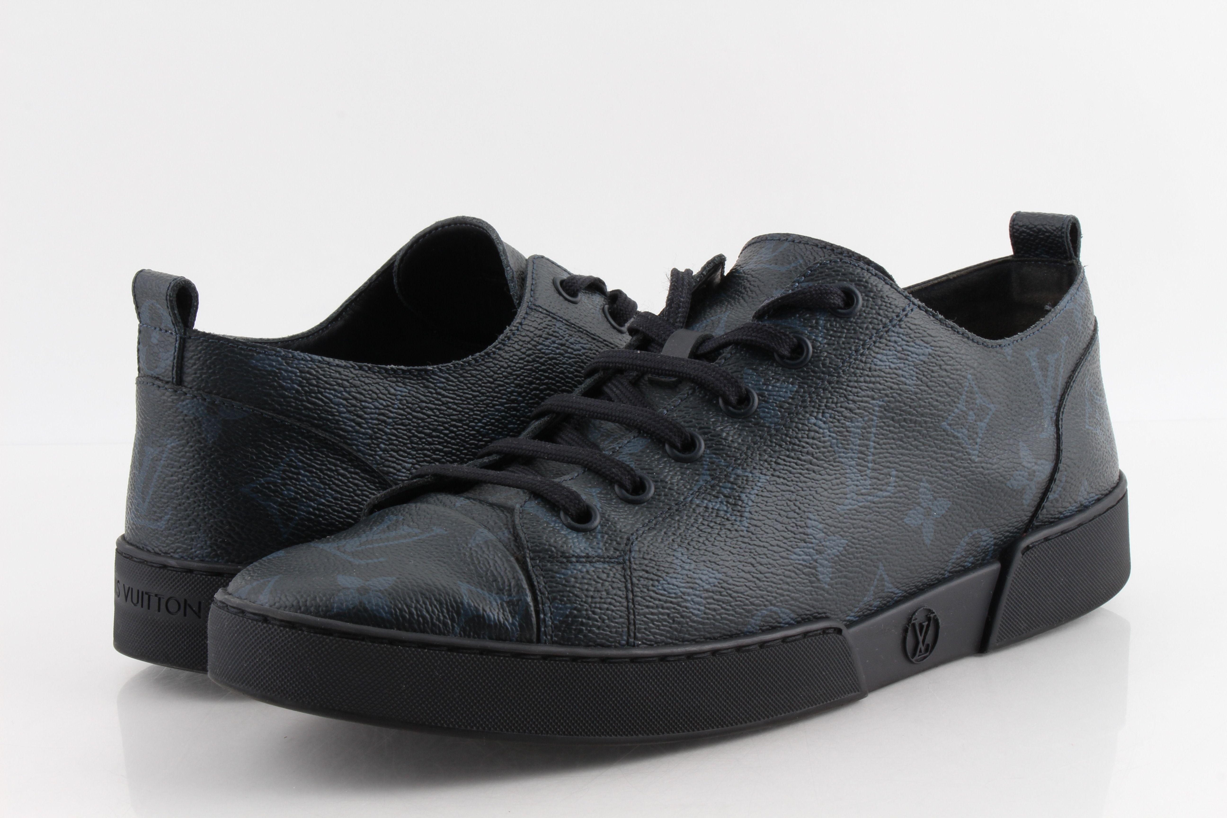 Louis Vuitton Cobalt Match Up Sneakers