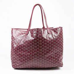 Goyard St. Louis GM Bordeaux Red Goyardine Tote Bag