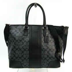 Coach Signature Heritage Utility F71104 Men's Leather,PVC Shoulder Bag, BF521061