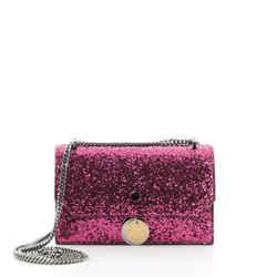 I Want Choo Chain Clutch Candy Glitter Leather Mini