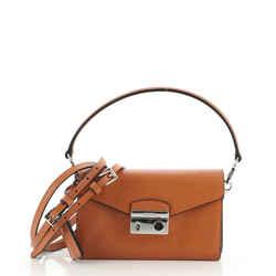 Convertible Sound Bag Saffiano Leather Mini