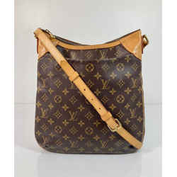 Louis Vuitton Monogram Odeon MM Crossbody Shoulder Handbag