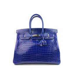 Hermes Birkin Special Order Blue Electric / pink