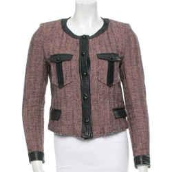 Isabel Marant Pink and Black Houndstooth Jacket Blazer Size: 6 (S)