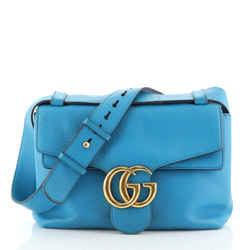 GG Marmont Shoulder Bag Leather Small