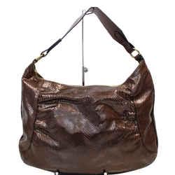 Burberry London Python Hobo Bag Bronze