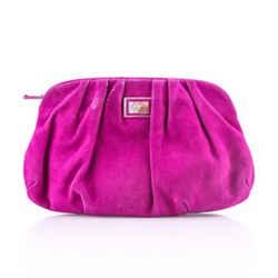 Giuseppe Zanotti Accented Clutch Bag Purple One Size Authenticity Guaranteed