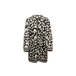 Vintage Black & White Emanuel Ungaro Leopard Cardigan