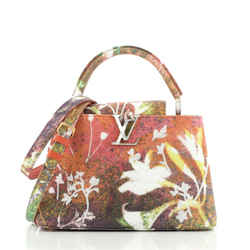 Sam Falls Artycapucines Bag Embroidered Printed Canvas PM