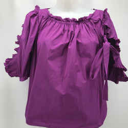 See By Chloe Purple Puff Sleeve 4