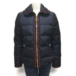Gucci Navy / Red Dots Short Puffer Jacket