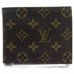 Louis Vuitton Monogram Men's Wallet Multiple Slender Florin 861260
