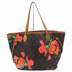 Louis Vuitton Rare Sprouse Monogram Roses Neverfull MM Tote 860688