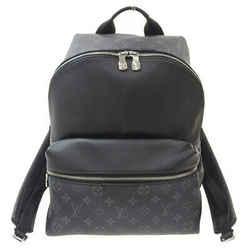 Auth Louis Vuitton Louis Vuitton Taigarama Eclipse Discovery Backpack Noir M3023
