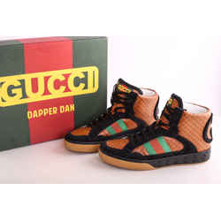 Gucci GG Monogram Dapper Dan Apollo High Top Sneakers