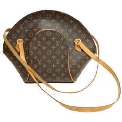 Authentic Louis Vuitton Ellipse Shopping Gm Vintage Leather Shoulder Bag Monogram Signature Logo Purse