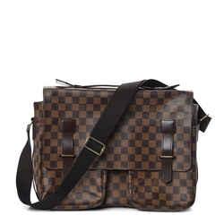 Louis Vuitton Damier Ebene Broadway Messegner Briefcase Attache 860286