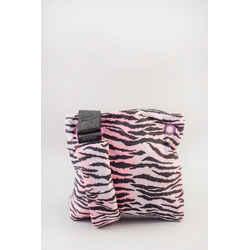 Kenzo x H&M Pink Nylon Zebra Print Crossbody